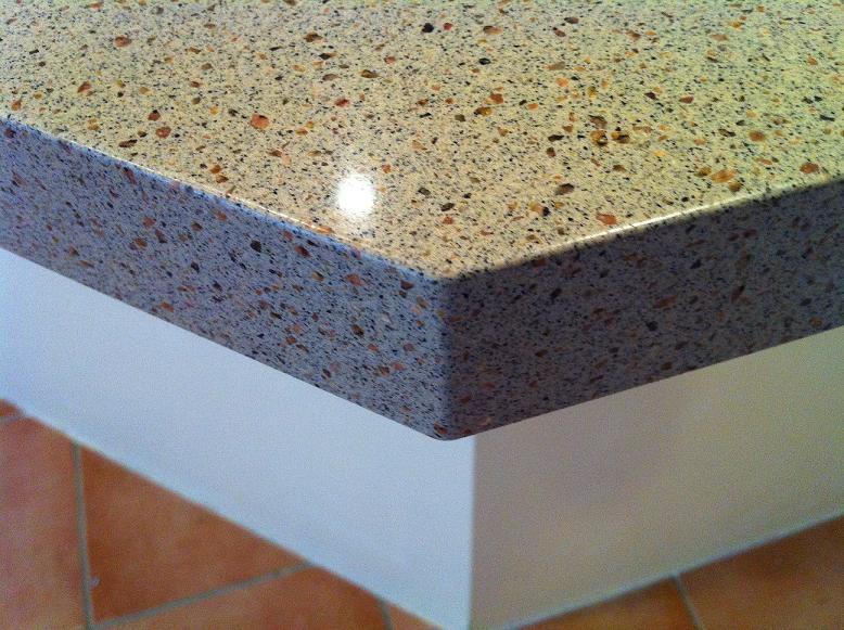 brown quartz stone benchtop