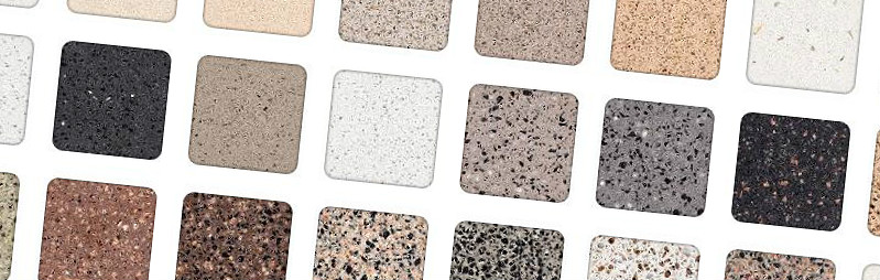 Naturastone colour samples