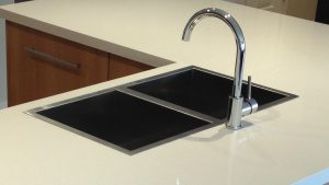 Undermount Sink Mounted on Top
