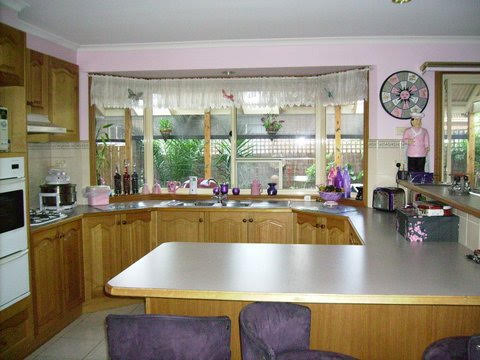 Initially a U shaped Kitchen