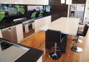 Black and White Stone Benchtops